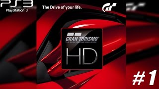 [ITA] [Let's Play] - [PS3] Gran Turismo HD - Il primo GT su ps3 #1