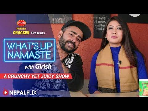 What secret did Asmi Shrestha reveal to Girish?  | What's Up Namaste with Girish | Episode 3
