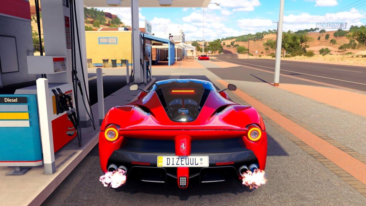Forza Horizon 3 Ferrari Laferrari Gameplay Hd 1080p Youtube