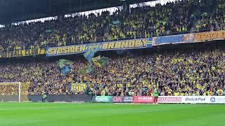 25.000 Brøndby-fans synger Stoltheden Er Kolossal