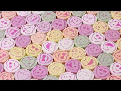Swizzels LOVE HEARTS Sweets Emojis Production