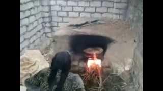Bread Making Egyptian Farm