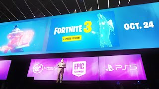 Fortnite 3: PS5 Gameplay