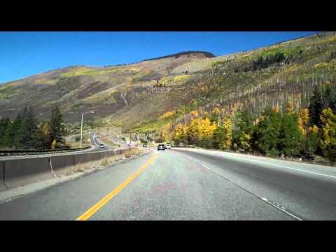 Denver to Grand Junction, CO I-70 Time Lapse  10/02/10