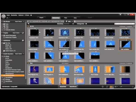 Kollektionen in Pinnacle Studio 16 und 17 Video 22 von 114