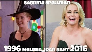 Sabrina the Teenage Witch, Then and Now