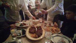 Peter Luger Dining Experience Brooklyn Williamsburg New York 2017