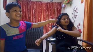 Good sister vs Bad sister II with my brother # for kids # bro sis love II Nandini's funland