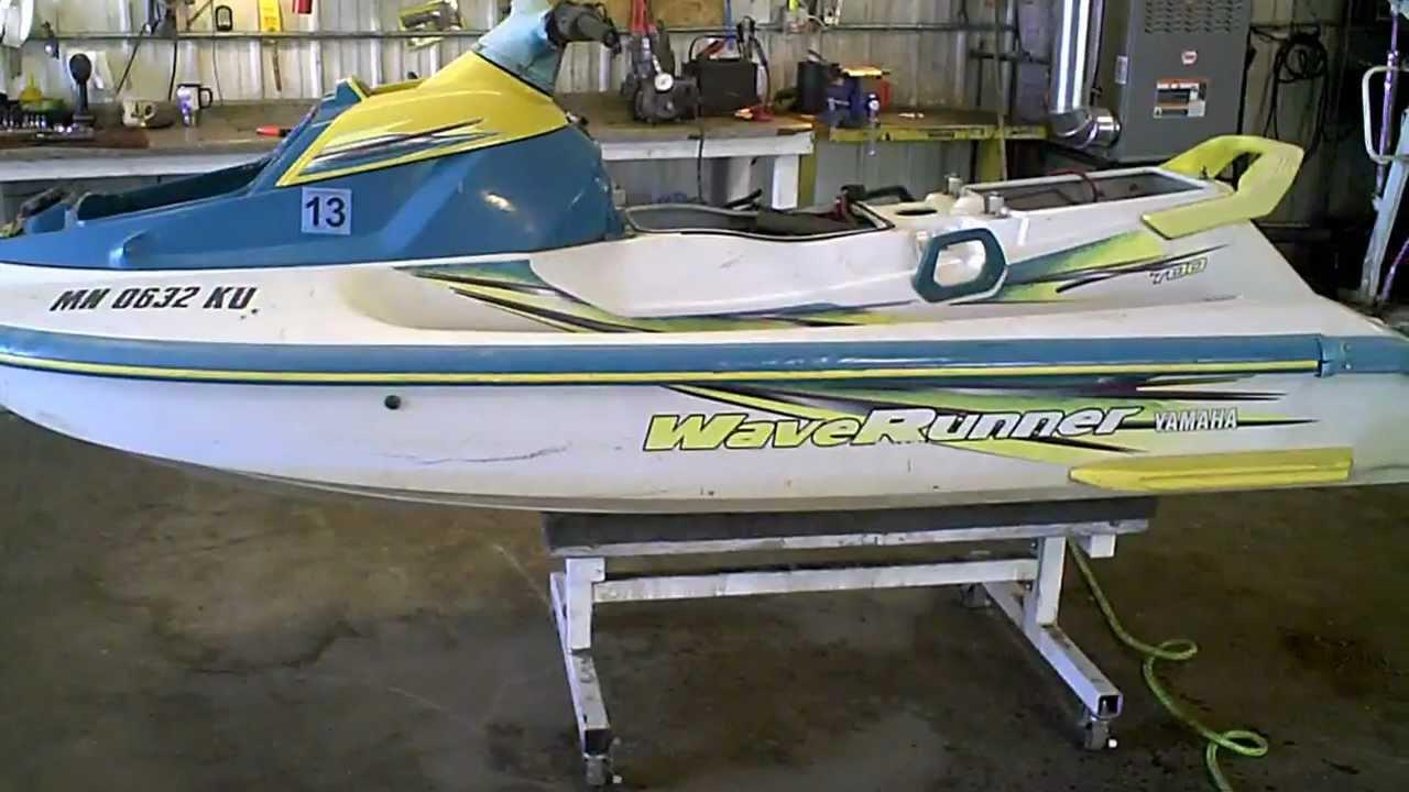 Lot 1147e 1998 yamaha wave venture waverunner 700 jet ski for Yamaha jet ski waverunner