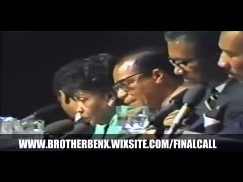 Minister Louis Farrakhan & Reverend Jessie Jackson