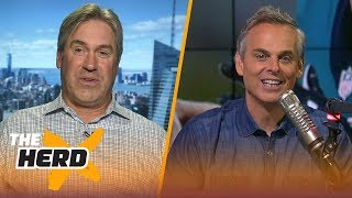 doug pederson relives phillys super bowl win philly special foles and wentz nfl the herd