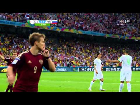 World Cup 2014 Group H Algeria vs Russia 2014 All Goals/Algieria - Rosja