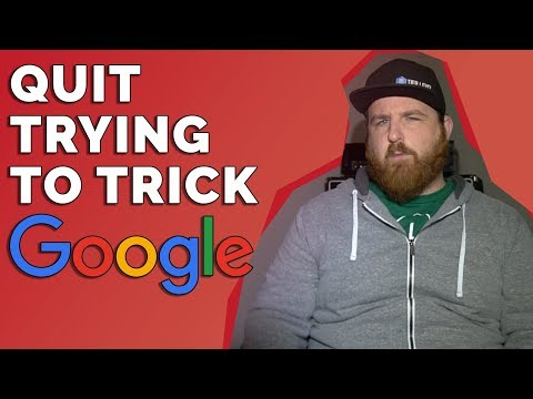 Quit trying to trick Google // Episode 031 // Sean Michael Lewis