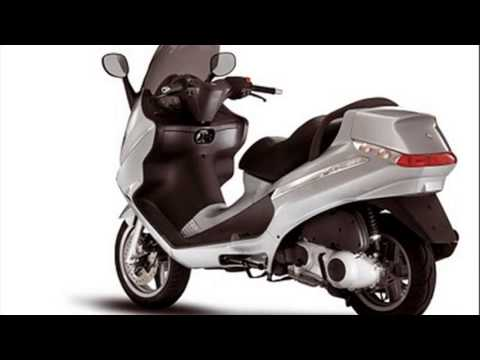 piaggio x8 200cc test ride - youtube