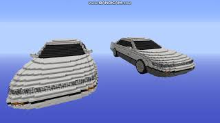 Nissan silvia s13 Minecraft build