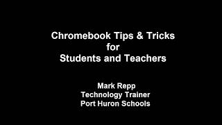 Chromebook Tips & Tricks for Students and Teachers: Pin a Tab in Chrome  and Google Drive Tips