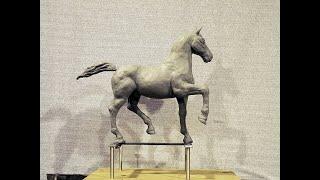 Plasticine Horse Construction - Slideshow