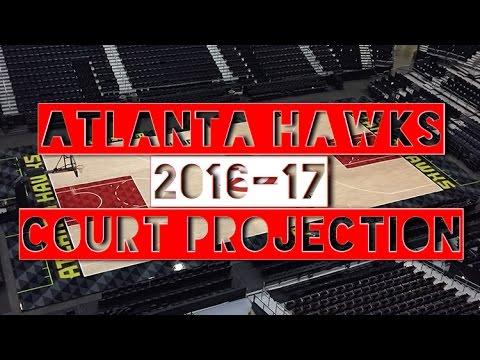 Atlanta Hawks Season Opener Court Projection