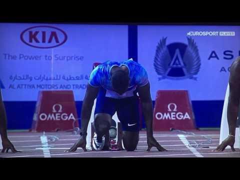 Doha Diamond League-100m men- Gatlin, Powel, De Grasse, Simbine...UPSET!!