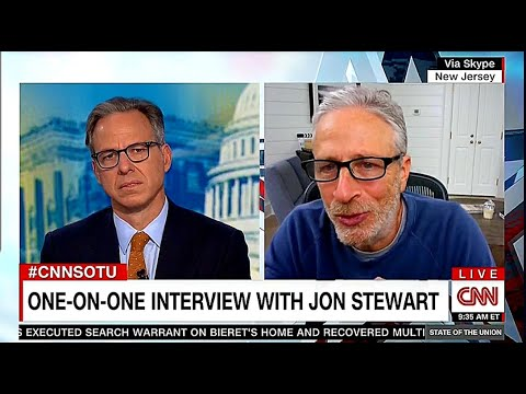 Download Jake Tapper ONE-ON-ONE Interview With Jon Stewart