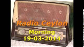 Radio Ceylon 19-03-2014~Wednesday Morning~04 Film Sangeet-2