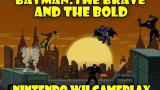 Batman: the brave and the bold (Nintendo Wii) HD gameplay