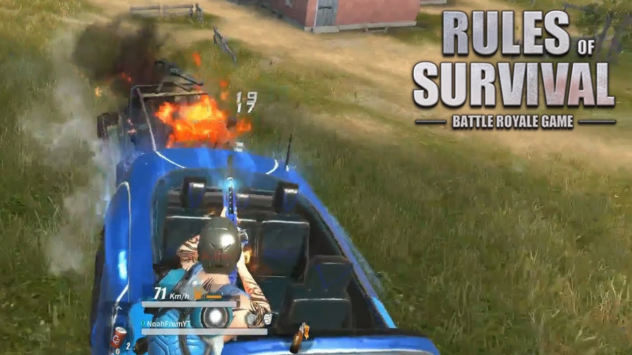 Noah Plays From California! (Rules of Survival: Battle Royale #129)
