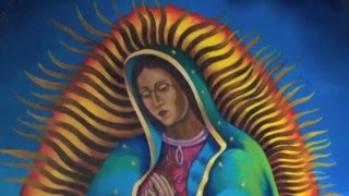 Virgin of Guadalupe Mural Time-Lapse Video