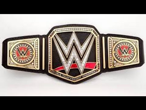 WWE Championship Belt Designs 1963-Present/ Used And Unused/ Updated Version 3 - YouTube