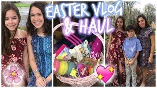 Easter Haul & Vlog! Opening Baskets