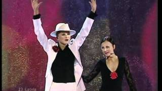 Marie N - I Wanna (Latvia - Eurovision 2002 Live) HQ