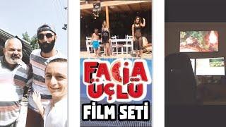 Facia Üçlü Film Seti (Kamera Arkası)