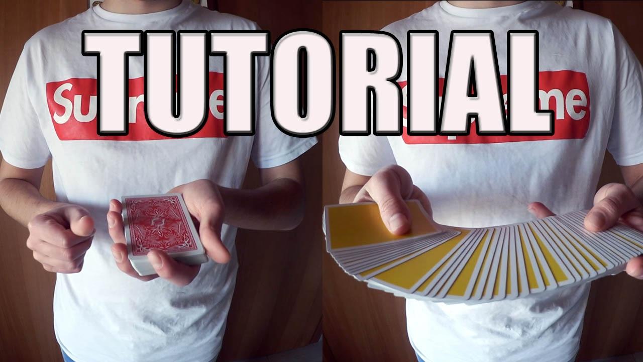Tutorial magia come trasformare un mazzo di carte come for Come costruire un mazzo di 2 piani