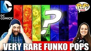 Very Rare Retired DC Funko Pops