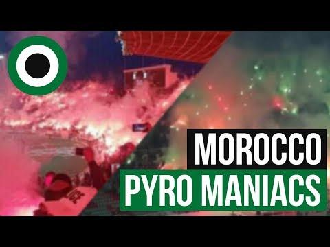 Ultras-Tifo: Morocco Pyro Maniacs