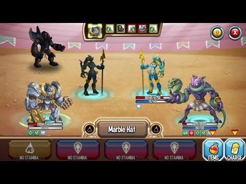 Monster Legends - Super Rockantium level 130 PVP combat review - Fun Battles :v