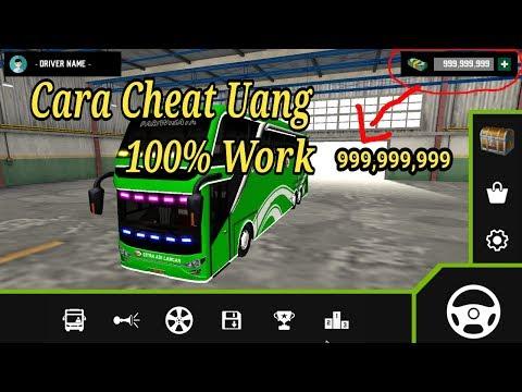 Cara Cheat Uang Di Game MOBILE BUS SIMULATOR 100% Work