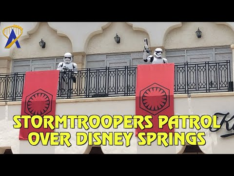 Star Wars Stormtroopers secure Disney Springs with new Social Distancing Measures