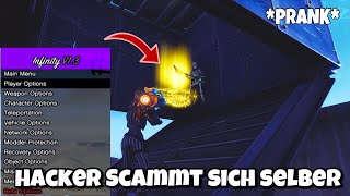 HACKER Scammer SCAMMT SELBER in Fortnite Save The World (Scammer was scammed)