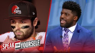 Baker Mayfield will be a bust this season, talks Lamar & Watson - Acho | NFL | SPEAK FOR YOURSELF