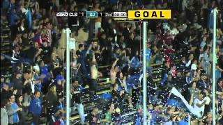 GOAL: Late flying volley, Alan Gordon ties it for the San Jose Earthquakes