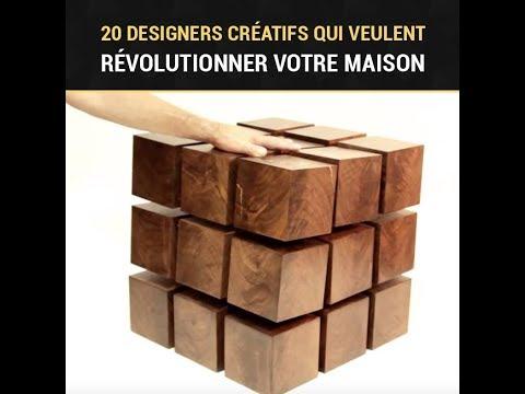 20 designers créatifs qui révolutionnent votre maison