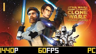 Star Wars: The Clone Wars - Republic Heroes - Mission 1 - Master and Padawan