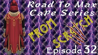 Road to Max Cape from Scratch Ep. 32 And The Fun Begins!