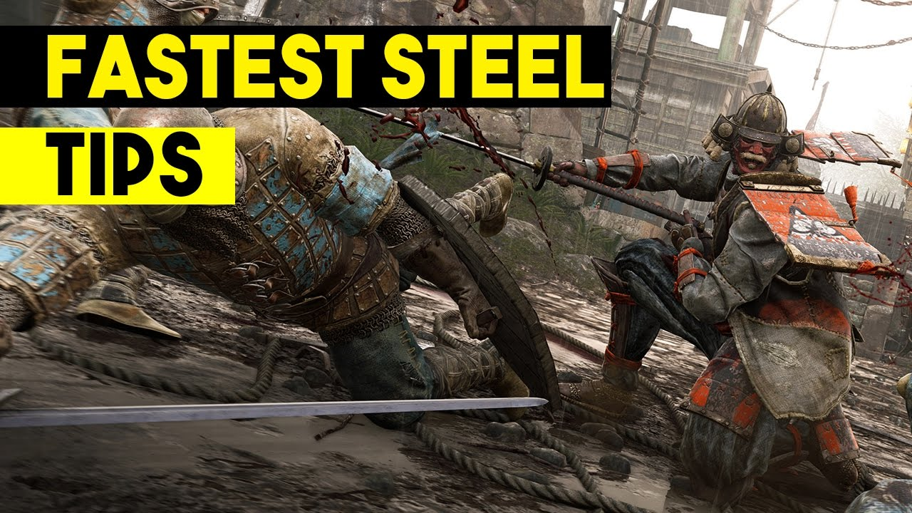 For Honor - How to Earn Steel Fast - Tips for Grinding Steel in For Honor -  GUIDE