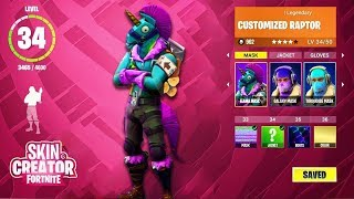CUSTOMIZE SKINS FOR FREE IN FORTNITE BATTLE PASS 5 SKINS!? | FREE V-BUCKS FORTNITE