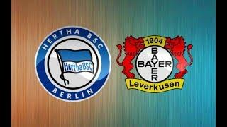 Герта - Байер прогнозы на матч и ставки на спорт