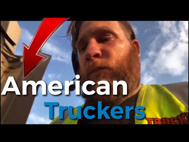 A Day In The Life Of An American Truck Driver