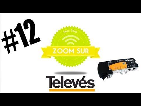 Adaptateur Ethernet Gigabit - HDTV Televes Data Coax + CPL Zoom #12