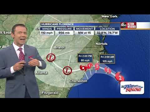 Tracking Hurricane Florence | 5AM Update